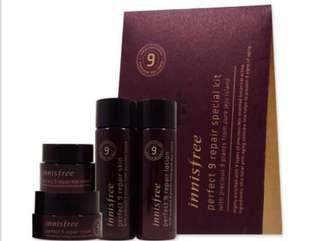 Skincare kit + free samples 5pcs