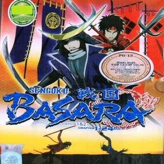 Sengoku Basara Sea 1 + 2 Chp 1-24 End Anime DVD