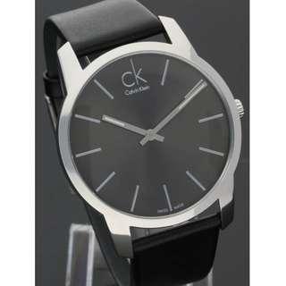 Calvin Klein CK #K2G21107 城市經典簡約腕錶 43mm