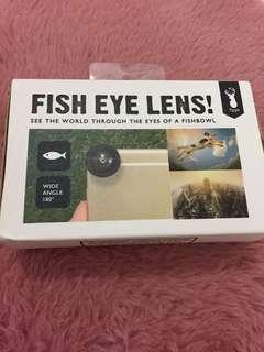 Fish Eye Lens Typo