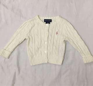 Original Ralph Lauren Cardigan/Baby Gap jumper