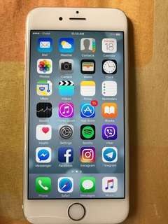 Iphone 6 16gb GLOBE LOCKED