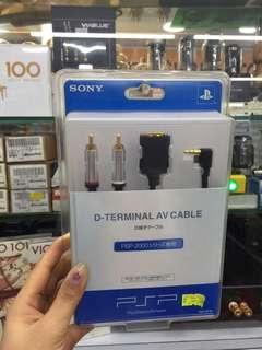 SONY D-TERMINAL AV CABLE