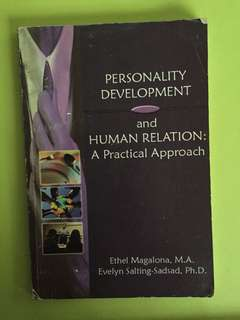 Personality Development and Human Relation