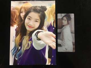 (Set) Dahyun postcard and bookmark