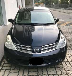 Nissan LATIO (RENT OUT FAST)
