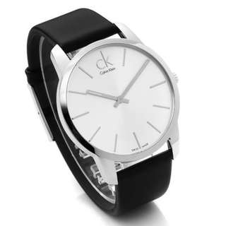 Calvin Klein CK #K2G211C6 城市經典簡約腕錶 43mm