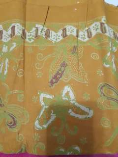 Batik pekalongan motif Kuning