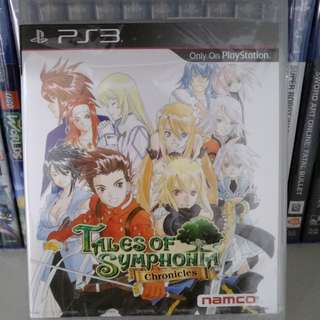 (New!) PS3 - Tales Of Symphonia Chronicles