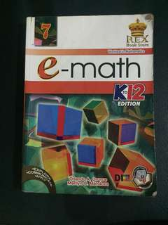 e-Math K to 12 Edition