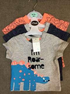 Baby Boy Tshirt: 0-3mths