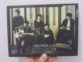 FT Island 4th Mini Album - Grown Up