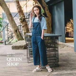 🚚 Queen shop 藍白條紋上衣