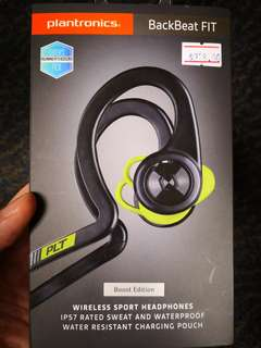 Plantronics Backbeat Fit Wireless Headphones for sports