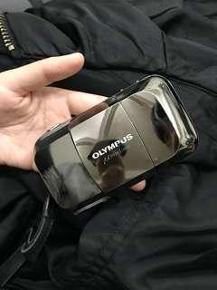 🚚 Olympus mju 喵萬底片傻瓜相機 限量版銀機