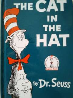 Preloved. The cat in the Hat. By Dr. Seuss