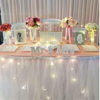 Dessert Table Setup_Wedding / ROM / Birthday