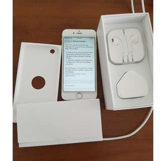Gold iPhone 6 with 64GB RAM (Model: MG4J2ZP/A) [A1586]