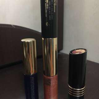 Sale!!! Authentic bundle estee lauder mascara, lip gloss  & revlon lippies