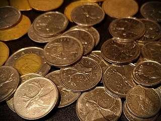 加拿大舊散錢