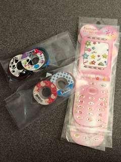 Fancy Tap n Girl Stickers Earring