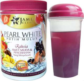 pearl white jamu jelita