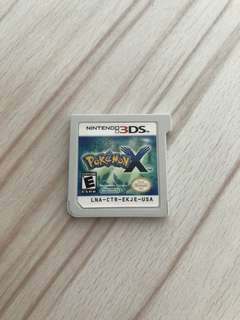 Pokémon X 3DS game