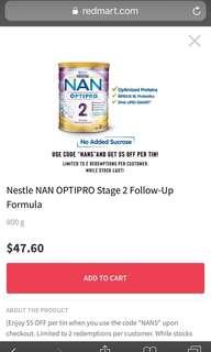 BN Nan optipro 2 - 800g