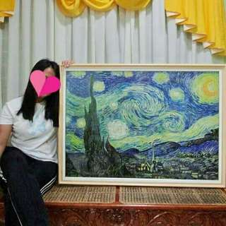 The Starry Night by Vincent van Gogh 2000-piece puzzle