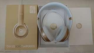 🚚 Beats solo2 wireless 耳機  (金色)