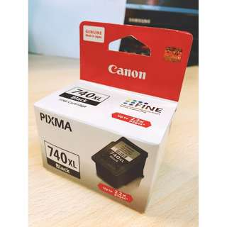 Canon PG-740XL Black Ink Cartridge- 100% Genuine Original Canon Ink