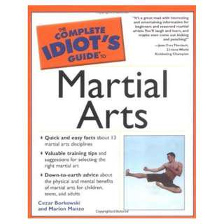 🚚 The Complete Idiot's Guide to Martial Arts