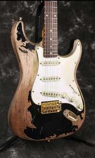 John Mayer's Black1 Custom Relic Electric Guitar Replica