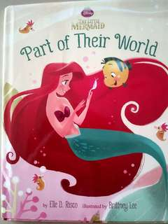 Preloved. Kids Story Book. Disney The Little Mermaid. Part of their world.