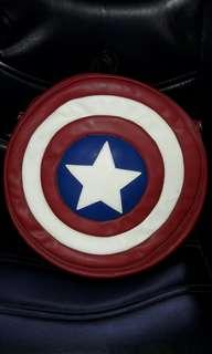🚚 Marvel美國隊長盾牌背包