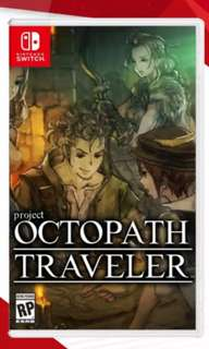 🚚 [BNIB] Octopath Traveler Nintendo Switch