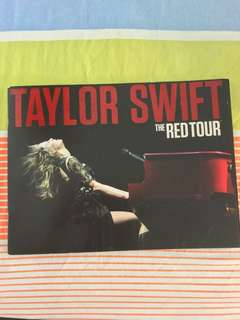 Taylor Swift The RED Tour Photo Album