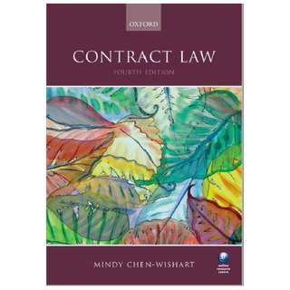 Contract Law Mindy Chen-Wishart 4th Edition