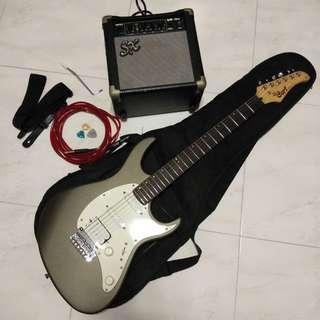 SET: Cort Electric Guitar