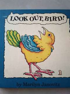 Preloved. Kids Story Book. Look Out Bird.