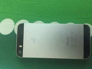 Iphone 5s for parts only working fingerprint price still negotiable