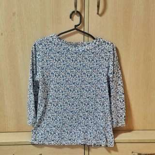 Floral 3/4ths Top