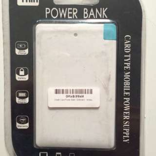 Power Bank 3200mah - White