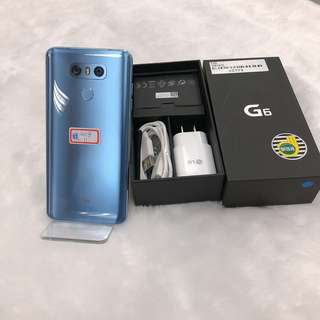 LG G6 good function warranty 2018/11 accessories complete