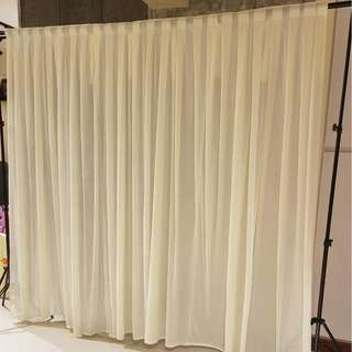 Dessert Table Props Rental_BACKDROP VEIL CURTAIN