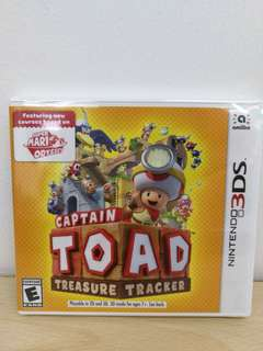 (Brand New) 3DS Captain Toad Treasure Tracker / US