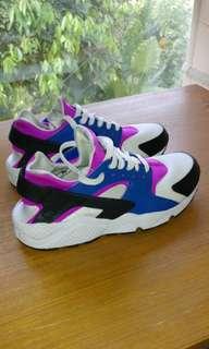 Nike Air Huarache Blue Jay Hyper Violet size 8.5