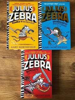 Julius Zebra series / Geranimo / Big Nate / Wimpy Kids