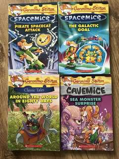 Geronimo Stilton / Big Nate / Wimpy Kids