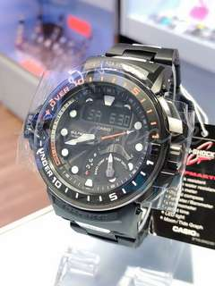 CASIO G-SHOCK GULFMASTER GWN-Q1000MC-1A (太陽能電波錶)